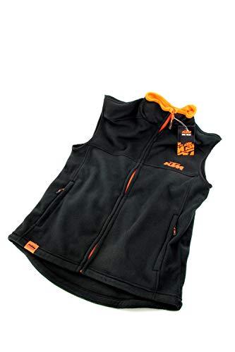 KTM Factory Team Arbeitsweste in schwarz mit Reißverschluss (XS-XXL), Größe:XS