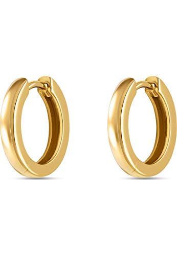CHRIST Gold Damen-Creolen 585er Gelbgold One Size 87775968