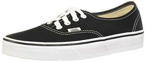 Vans AUTHENTIC VEE3 Unisex-Erwachsene Sneakers, schwarz/Weiß, EU 45