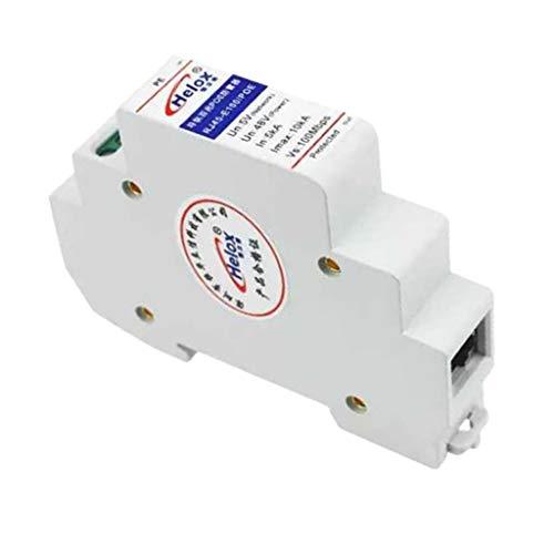 non-brand RJ45 Blitzschutz Blitzableiter PoE Ethernet Überspannungsschutz für Überstrom Schutz