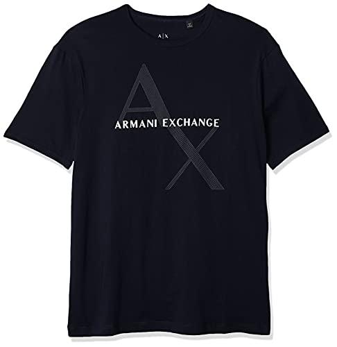 ARMANI EXCHANGE 8nzt76 T-Shirt, Blu (Navy 1510), XX-Large Uomo