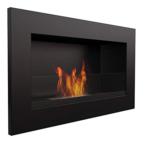 Kratki organic fireplace GOLF  ethanol wall fireplace   ideal for home, living room or bedroom   T?V - Rheinland tested   various styles and patterns