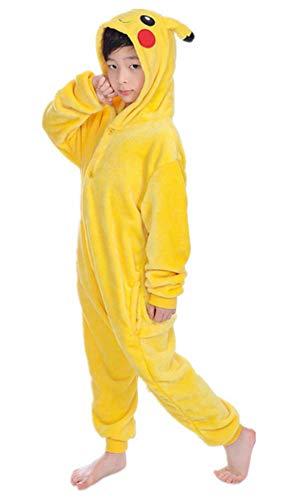 emmarcon Pijamas Animales de Niños Traje Disfraz Carnaval Halloween Fiesta Cosplay Unisex