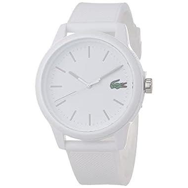Lacoste Men's TR90 Quartz Watch with Rubber...