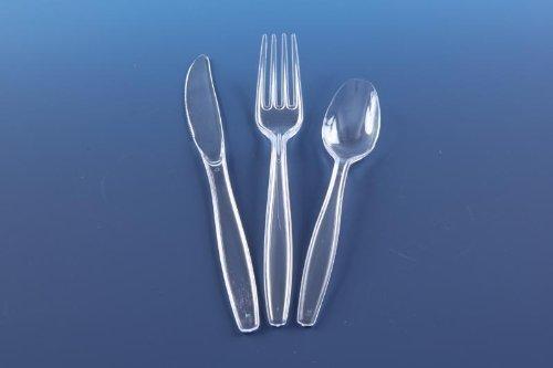 Splendid dining Splendid dining {150-Stück} Plastikbesteck, wiederverwendbar Bild