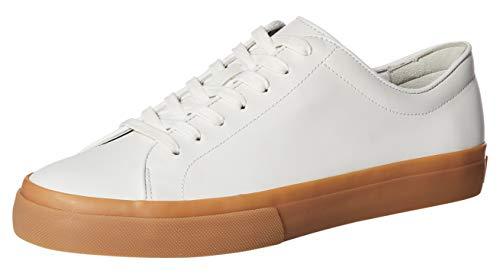 Vince Men's Farrell,WHT/HC SILKC Sneaker, White/Horchata, 11 M US