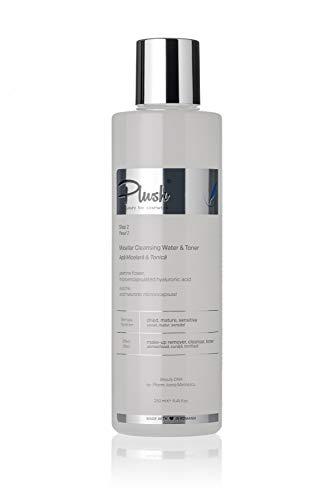 Luxury BIO Cosmetics - micellaire & Tonic Eau Nettoyant Visage - jasmin, l'acide hyaluronique microincapsulated, 250 ml