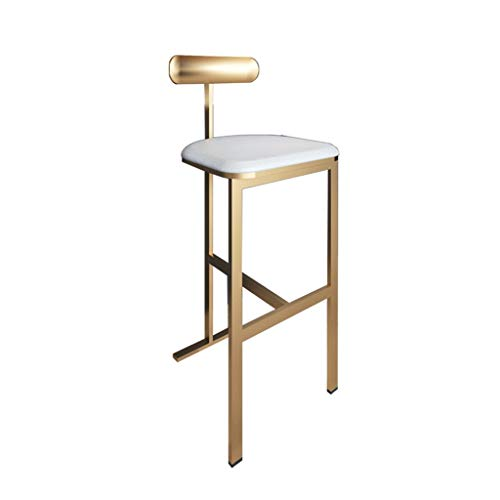 75CM hoge stoel, kruk, barkruk, eenvoudig, modern, metalen rug, hoge kruk, huishouden, hoge waarde, barstoel, barstoel