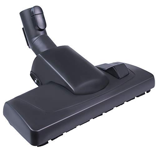 Hochwertige Bodendüse (umschaltbar) - Für alle Miele Staubsauger 7253830 (siehe Infos) kompatibel - Für Bodenstaubsauger von Miele | Düse mit Klickfunktion & Parkhalterung - Bestleistung beim Saugen