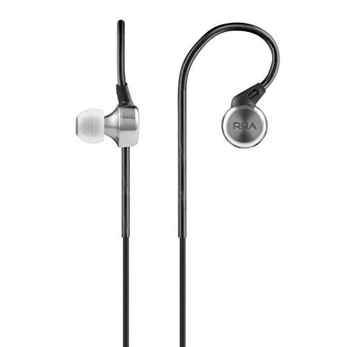 RHA MA750: cancelación de ruido Premium auriculares in-ear de alta resolución con...