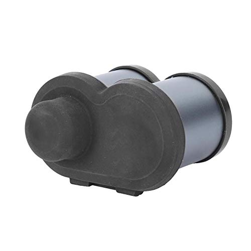 Bediffer Chargeur Allume-Cigare de Moto Chargeur Exquis Chargeur de Moto Prise Allume-Cigare pour pièces de Moto pour Moto(Gray)