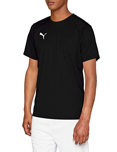 PUMA Liga Training Jersey, Hombre, Negro (Black/White), XL
