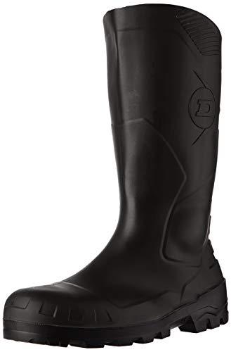 Dunlop Protective Footwear Devon full safety  Unisex-Erwachsene Gummistiefel, Schwarz 42 EU