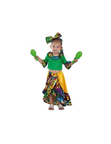 DISBACANAL Disfraz de Rumbera caribeña bebé - -, 24 Meses