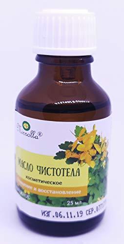 Kosmetisches Schöllkraut Öl Celandine Warzenöl Масло Чистотела 25ml чистотел