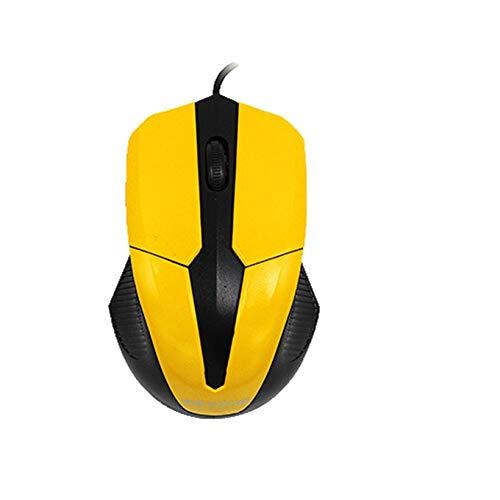 GMZRR Hoge prestaties muis Geavanceerde Nieuwe Wired Game Mouse Bedraad Scroll Wheel Gaming Mouse Usb 1000 Dpi Optische Muizen Voor Pc Laptop Notebook Licht En Flexibel Eenvoudig Te Gebruik En Niet Stuck