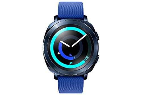 Samsung Gear Sport Smartwatch, Blu, GPS, Impermeabile 5ATM, Lettore MP3 Integrato [Versione Italiana] (Ricondizionato)