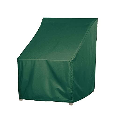 DATOU Patio Stacking Stuhlbezug 600D Oxford Regensicherer Winddichter Anti-UV-Gartenstuhlbezug Für Stapelbare Stühle Outdoor Furniture Protector(Size:85 * 94*(68.5 * 91.5) cm)