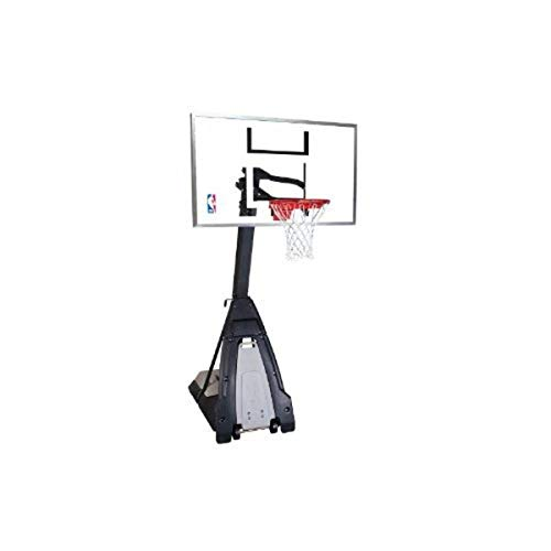 "Spalding ""The Beast"" 60"" Portable Basketball Hoop with Board Pad"