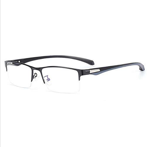 TR-90 Half Border leesbril, progressieve multifocale lens Spring brillen gepolariseerde leesbril,+2