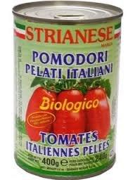 ストリアネーゼ 有機トマト缶 ホール 400g [並行輸入品]