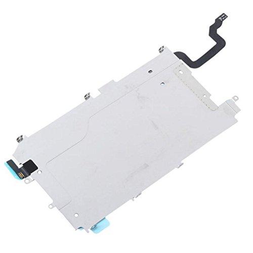 KRS - IB - Display LCD Abdeckung für iPhone 6, LCD Blech Metall Platte Homebutton Flex Verbindungskabel