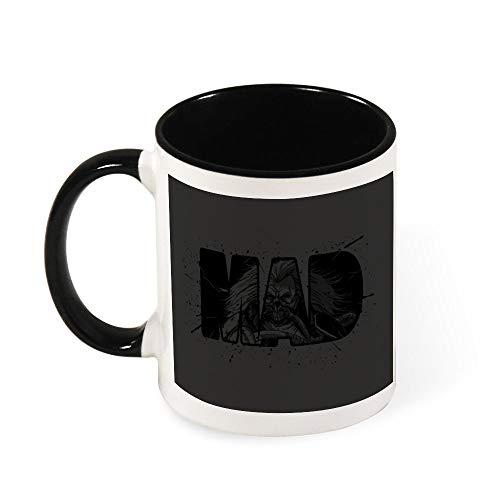 Mad Max Fury Road Immortan Joe Keramik-Kaffeetasse, Geschenk für Frauen, Mädchen, Ehefrau, Mutter, Oma, 325 ml