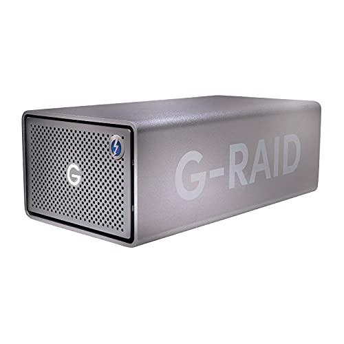 サンディスクプロフェッショナル 外付けHDD 8TB G-RAID 2 Thunderbolt 3 Mac向け タイムマシン対応 デュア...