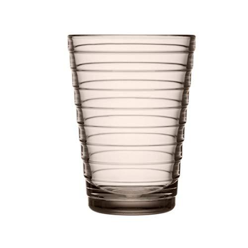 Iittala - Aino Aalto - Trinkglas/Wasserglas - Glas/spülmaschinengeeignet - Leinen - 33cl - 1 Stück