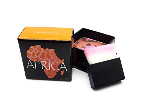 w7 Africa Blush Poudre pour un Effet Ensoleillé Naturel avec Pinceau 40 g