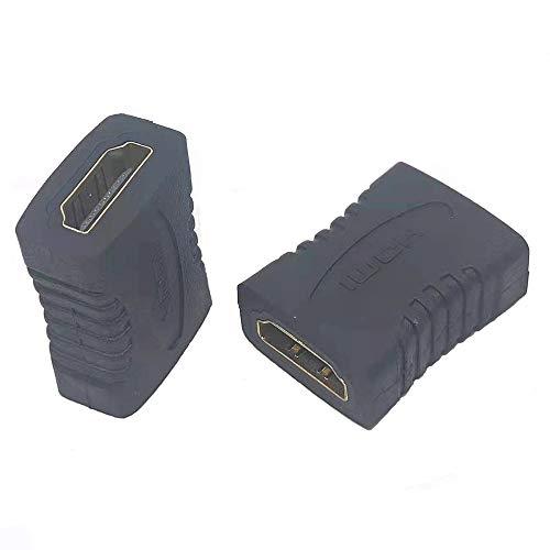 HDMI Coupler HDMI Extender HDMI Femmina a Femmina Adattatore Supporta lettori DVD, PS3, PS4, TV Box, PC, monitor, TV, proiettori e così via
