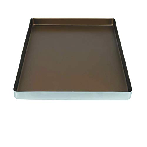 Rectangular Cake Pan, Non-Toxic & Sturdy Stainless Steel Baking Pan Easy Clean for Commercial or Home Use
