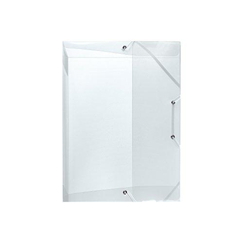 Herlitz 10722593 Heftbox A5 PP transluzent Rückenbreite 2,5 cm, farblos