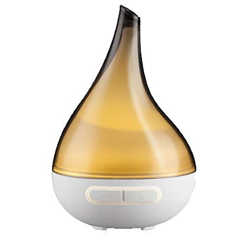 ANHPI-aromatherapy humidifier Humidificateur De Lampe De Nuit à Ultrasons De Bureau 200ml Trois-en-Un à Ultrasons avec Modes De Brume Réglables Intelligents Et Vaporisateur,Grey