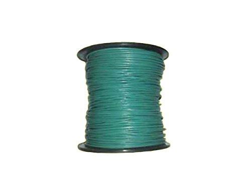 Lederband 1mm türkis-grün 10m