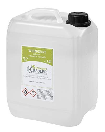 Brennerei Kessler Weingeist Primasprit Ethanol 96,4% - 5000ml