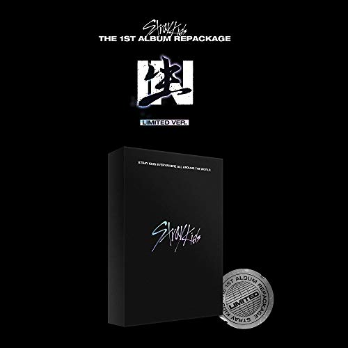 JYP Entertainment Stray Kids - IN生 Limited Edition (Vol.1 Repackage) Album+Pre-Order Benefit+Folded Poster+Extra Photocards Set