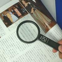 拡大鏡 手持ちルーペ 虫眼鏡 虫めがね 天眼鏡 アイデアルルーペ 1120 2.5倍 65mm