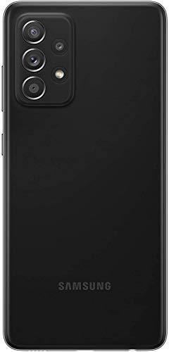 Samsung Galaxy A52 Smartphone ohne Vertrag 6.5 Zoll Infinity-O FHD+ Display, 128 GB Speicher, 4.500 mAh Akku und Super-Schnellladefunktion, schwarz, - 4