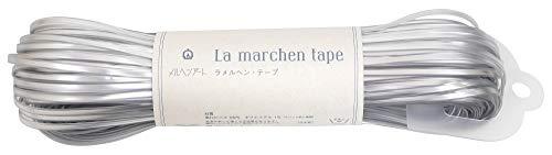 メルヘンアート ラ メルヘン・テープ 3mm 150g 約50m Col.172 フロストシルバー 1玉