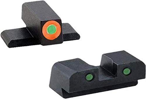 AmeriGlo Spartan Operator Sight Set for Sig Sauer, Green