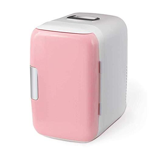 SHKUU Mini refrigerador, 6L para automóvil Mini refrigerador pequeño 12v Car Home Refrigerador Alquiler doméstico pequeño Doble Uso con Dormitorio Individual Duradero
