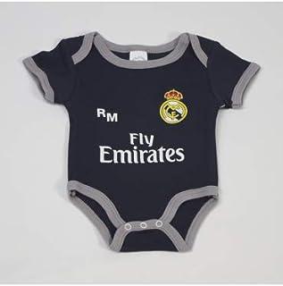 1edb6b8b5a5 10XDIEZ Body Bebe Real Madrid 811 Marino-Gris - Tallas bebé - 3 Meses
