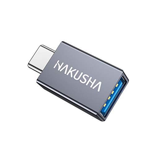 USB Adaptador 1 pieza Adaptador USB C a USB 3.0, cable adaptador OTG tipo C Compatible para Samsung S20 S10 S9 S8 Plus Note 10 A5 2017, Huawei P30 P20 Mate 30 20