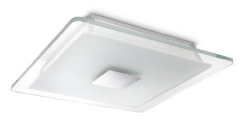 Philips Ecomoods Plafonnier Lampes de Plafond 2 x 23 W 230 V Aluminium