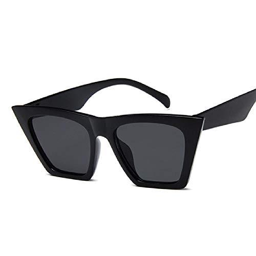 whcct Gafas de sol vintage para mujer Gafas de sol de lujo para mujer Classic Black