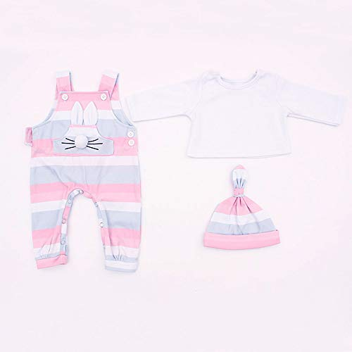 MineeQu nuevos estilos se adapta a 45-50 CM de alta calidad vestido de muñecas recién nacidas Reborn Baby Doll toda la ropa de algodón