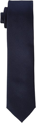 JACK & JONES Herren JACCOLOMBIA TIE NOOS Krawatte, Blau (Dark Navy Detail:Solid), One size