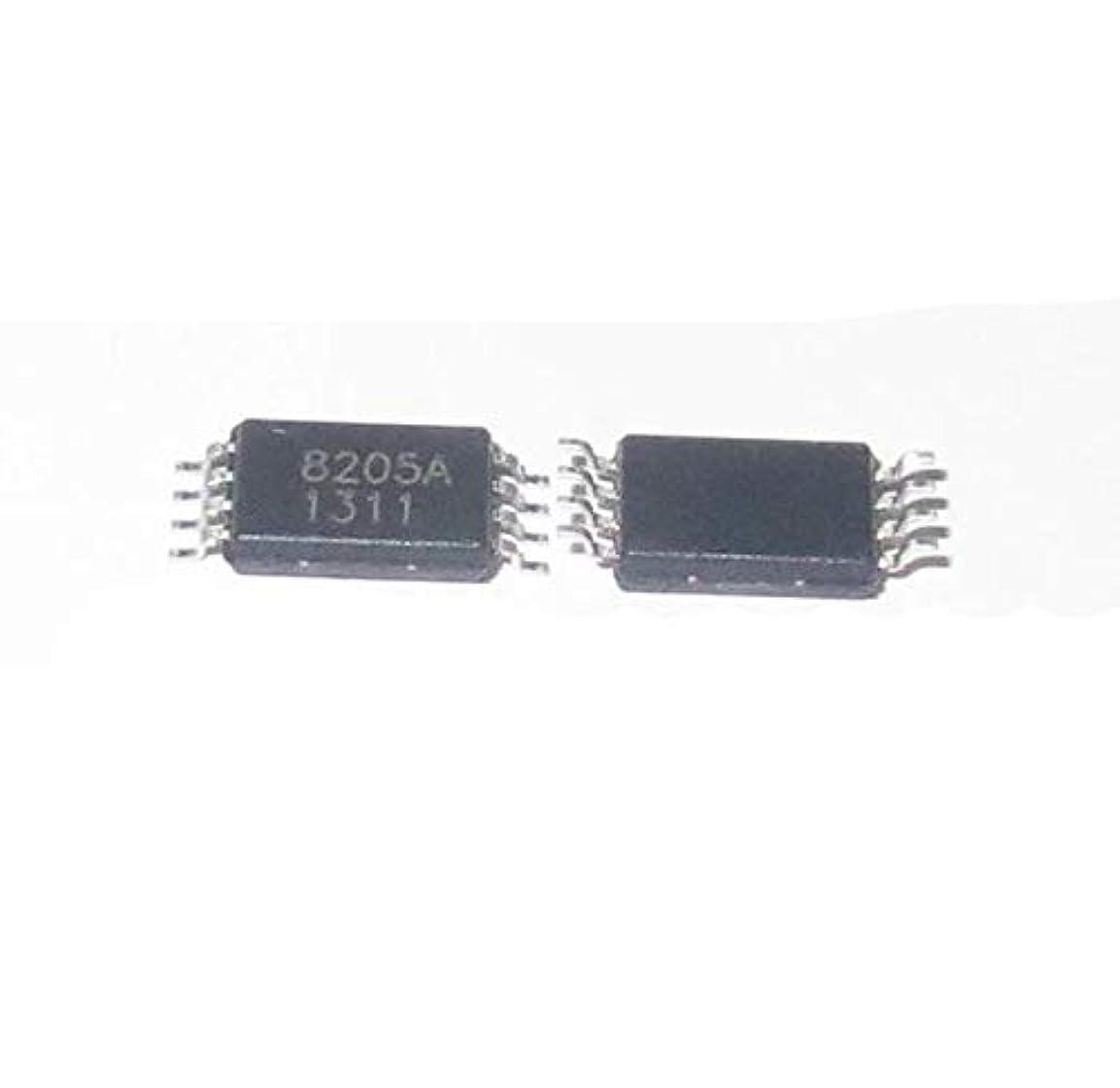 エミュレーション風味意気消沈したWillBest NEW FS8205A Lithium battery protection board DW01 8205 patch TSSOP8 200PCS