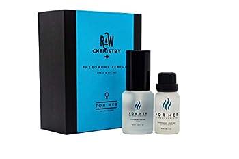 RawChemistry Pheromone Perfume Gift Set for Her [Attract Men] - Elegance Extra Strength Human Pheromone Formula 1 Fl Oz